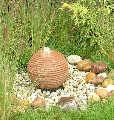Geribbelde Waterbol 35 cm