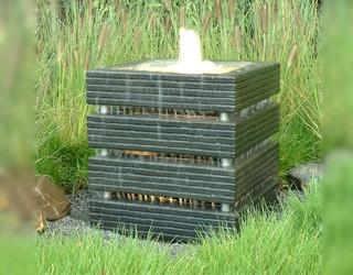 Waterelement 50x50 met buisjes