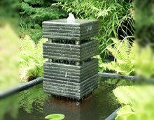 Waterelement 30x30 cm met bovenste 2 buisjes